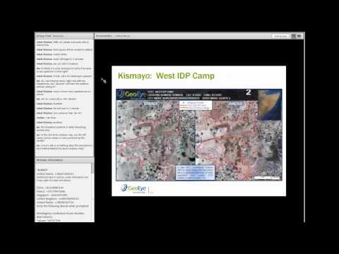 Crisis Mappers Webinar Series - Analytics for Conflict Mapping and Crisis Response