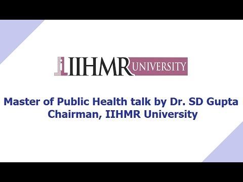 Master of Public Health Program | MPH | IIHMR University Jaipur