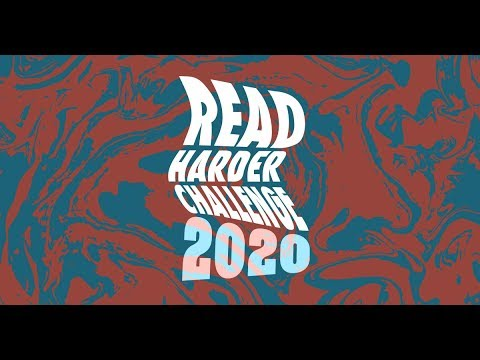Announcing The Read Harder Challenge 2020!