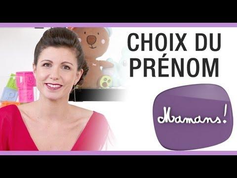 185568205ee76 Mamans ! - Le choix du prénom de bébé - YouTube