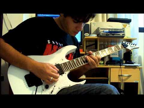 Firewind - Mercenary Man Guitar Solo Cover