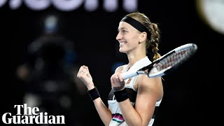 'It's been a long journey': Petra Kvitova reaches first grand slam final since knife attack