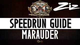 Path of Exile - Speedrun Guide - Marauder | Zizaran