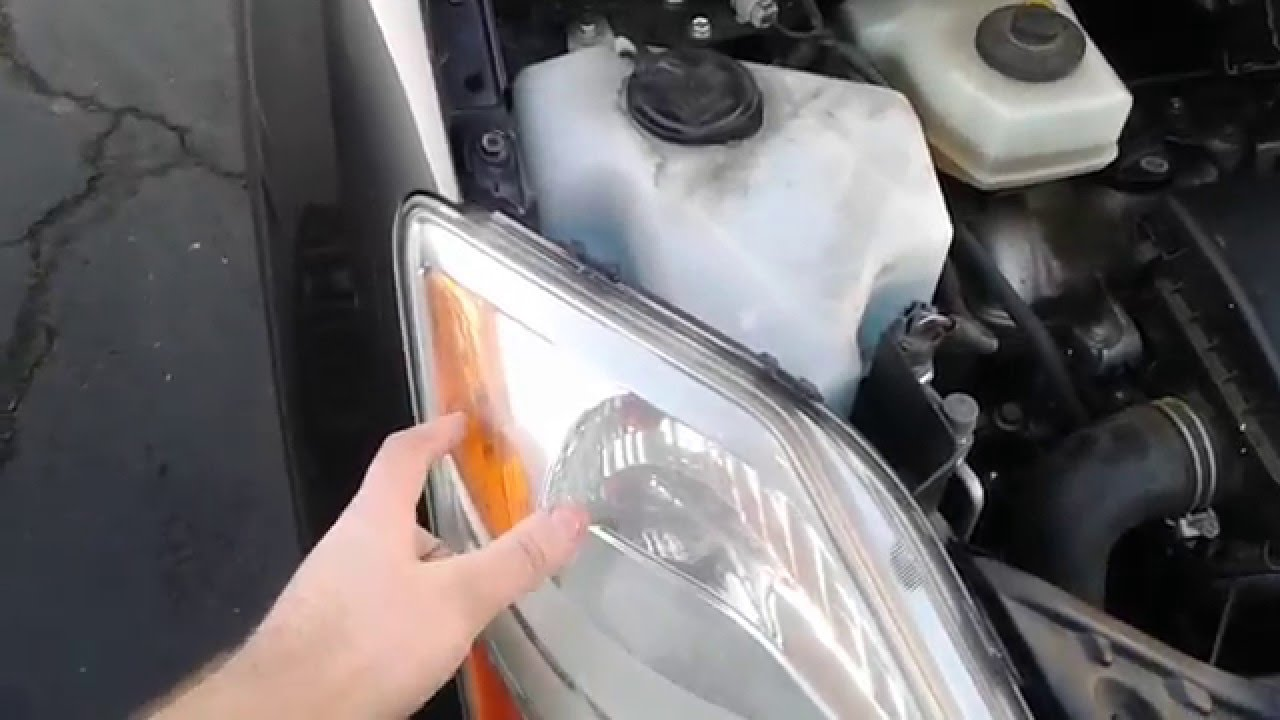2007 Prius Corner Parking Light Replacment