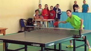 У Коломиї відбувся командний чемпіонат західного регіону з настільного тенісу