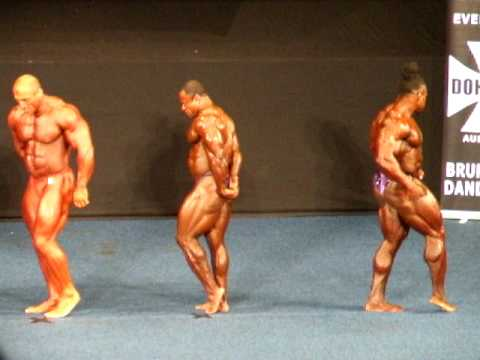 2009 Australian Grand Prix IX Bodybuilding - Comparisons 2