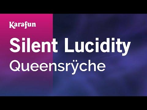 Karaoke Silent Lucidity - Queensrÿche *