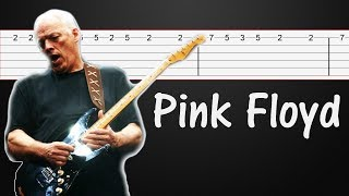 Wish You Were Here - Pink Floyd Guitar Tabs, Guitar Tutorial, Guitar Lesson (SOLO Tab)