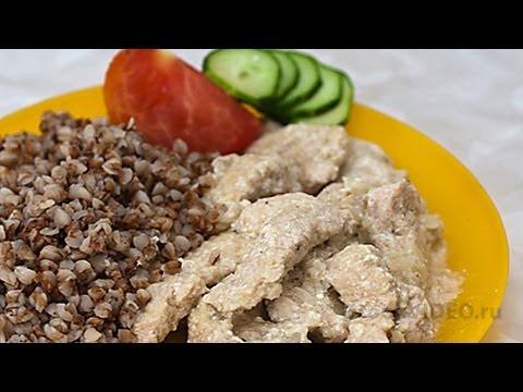 Мясо с коньяком видео рецепт UcookVideo.ru