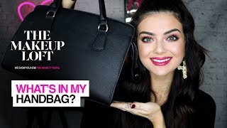 ASK A MUA: What's in my handbag? | Claire Howell x The Makeup Loft | Maybelline New York