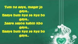Sare Sapne Kahin Kho Gaye With Lyrics ♥ Alka Yagnik ♥ Tum Yaad Aaye