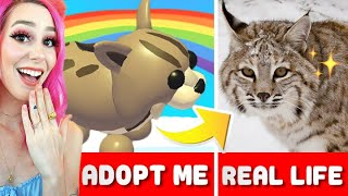 Adopt Me In REAL LIFE! Roblox Realistic Adopt Me