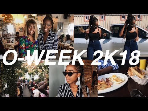 UNIVERSITY O-WEEK VLOG!: PART 1| South African YouTuber