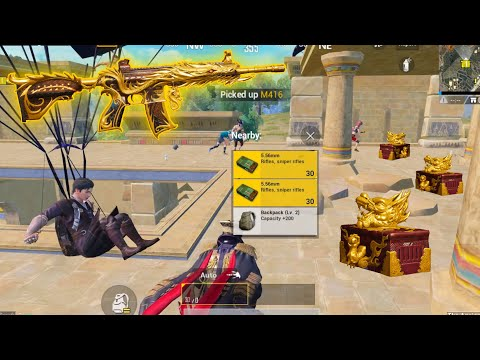 NEW BEST SKIN DRAGON M416!! | 22 KILLS SOLO vs SQUADS | PUBG MOBILE
