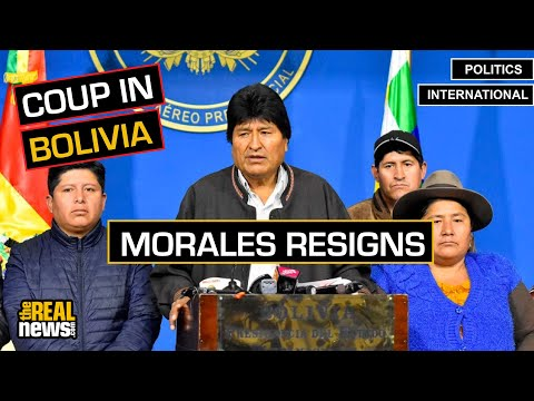 Bolivia's Evo Morales Forced to Resign in Coup d'État