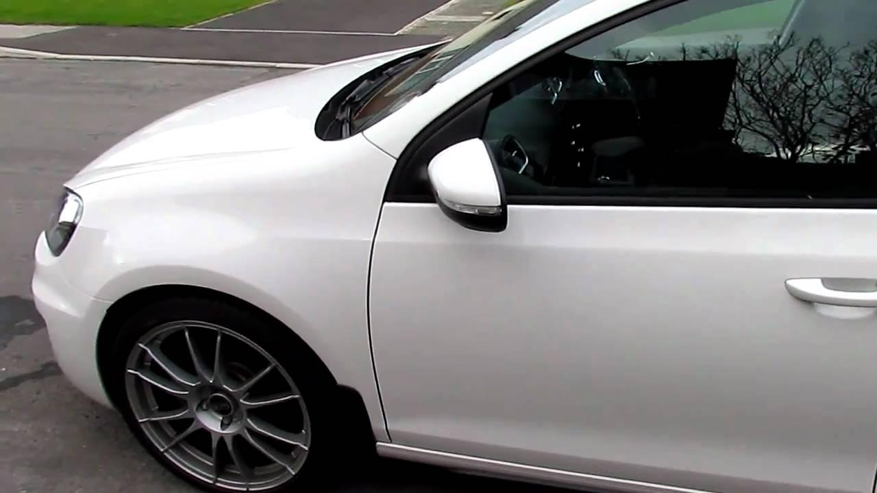 Vw Golf Mk6 Gtd On 19 Inch Rims Vw Golf Mk6 Gti Youtube