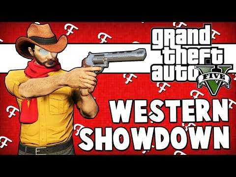 GTA 5: Wild Western Showdown, Lagging TyTyTheJedi, Grizzy Rages & Breaks Monitor (Comedy Gaming)