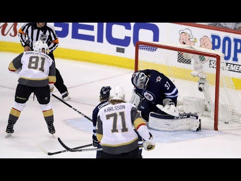 Marchessault lights the lamp twice in Game 2