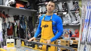Ремонт лыж  Заточка кантов, восстановление скользщей поверхности