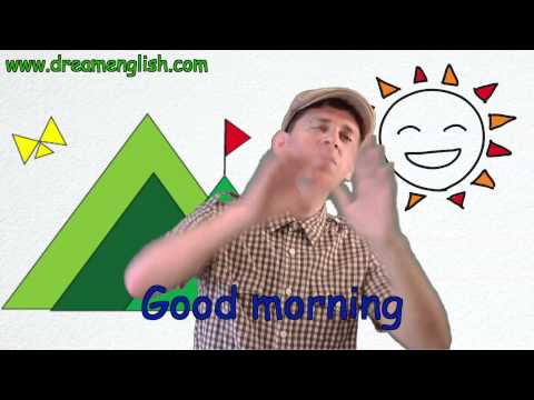 Good Morning Song For Children | Learn English Kids