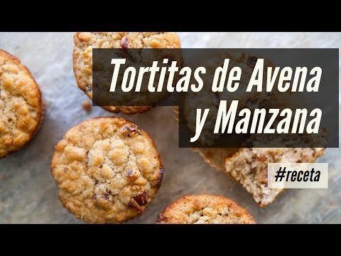 Tortitas de Avena y Manzana   La mejor receta de todas [FÁCIL Y RÁPIDA]