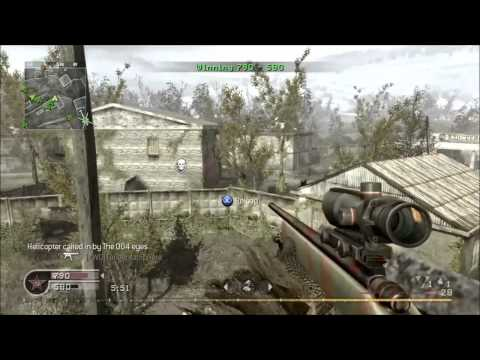 My last Call of Duty 4 NoScope Montage