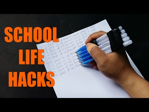 Top 10 best life hacks for school