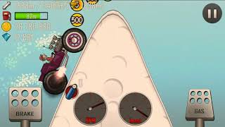 Hill Climb Racing, Hot Rod, Arctic, 2337m