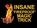 AWESOME 'FIREPROOF HAND' MAGIC TRICK REVEALED!
