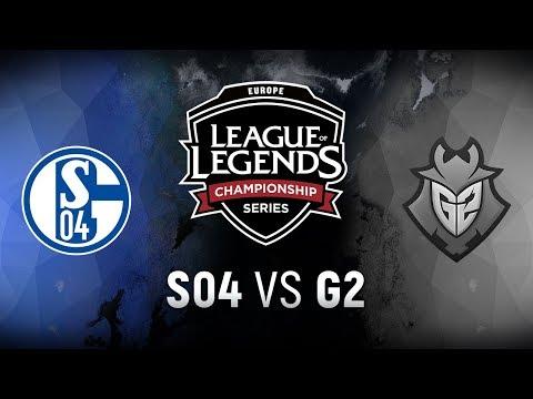 S04 vs. G2 - Week 8 Day 2 | EU LCS Spring Split |  FC Schalke 04 vs. G2 Esports (2018)