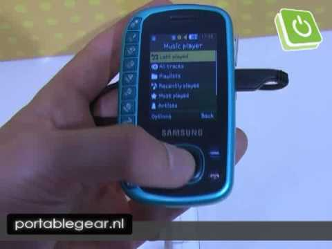 IFA 2009 - Samsung B3310 hands-on