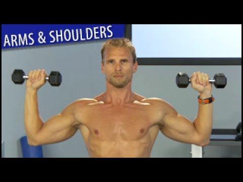 Strong Arms & Shoulders Workout: Steve Jordan- Intermediate