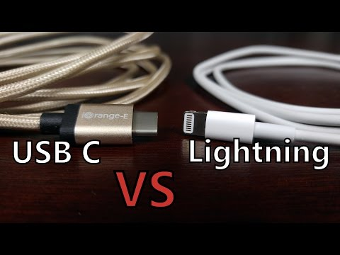 Cable Fight: USB Type-C vs Apple Lightning Connector