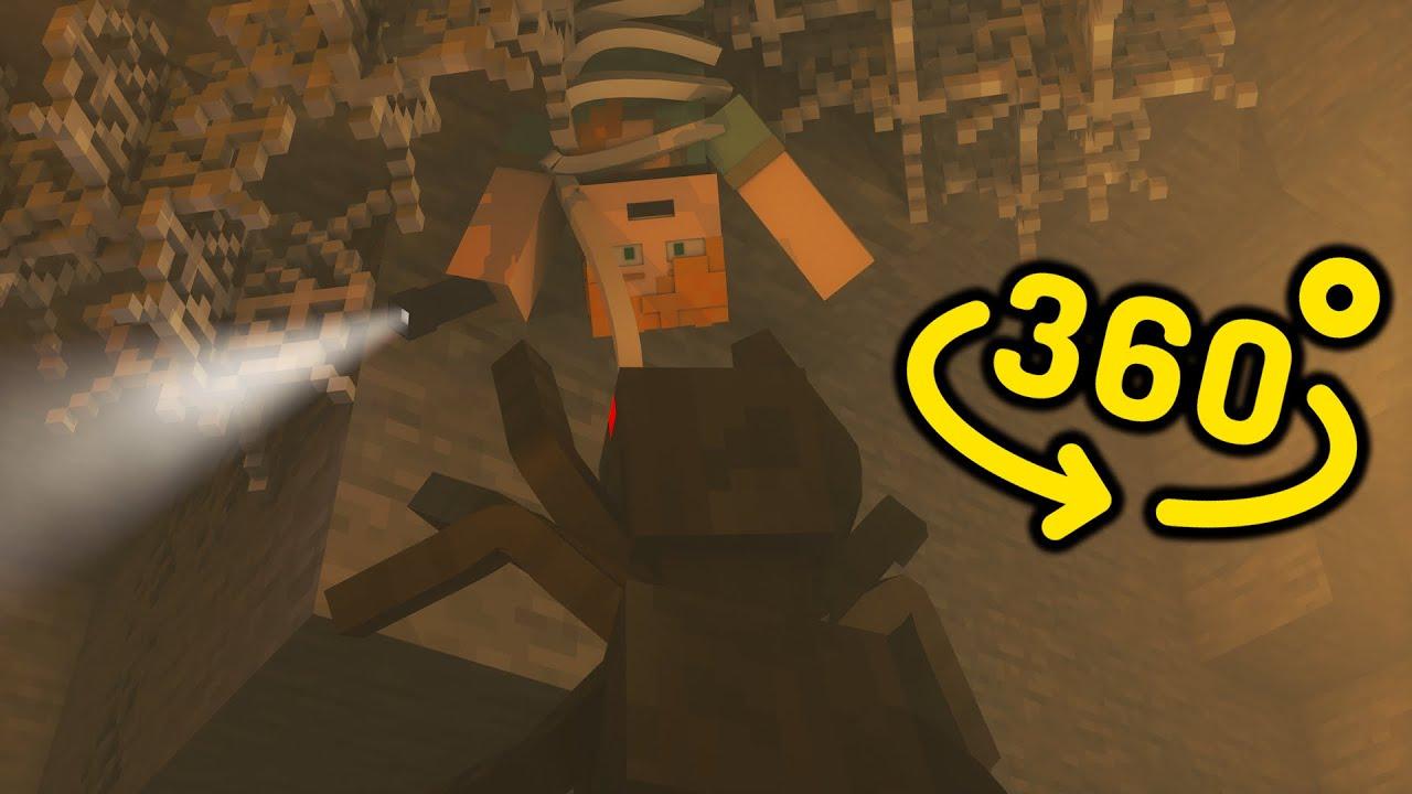 Spider Life 360/VR - Minecraft Animation Video