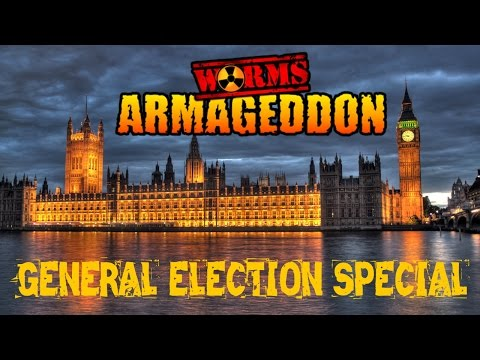 Worms Armageddon - General Election 2015 Special