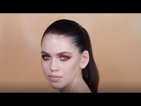 How To Create A Smoky Eye Makeup Look Using Natasha Denona Coral Palette