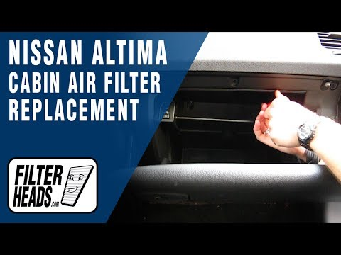 Attractive How To Replace Cabin Air Filter 2011 Nissan Altima