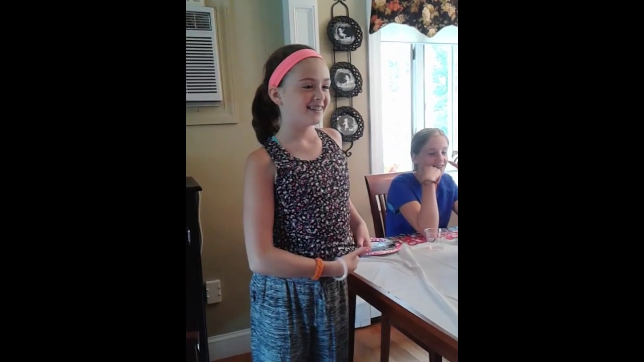 Samantha Lyons 14th birthday surprise Taylor Swift - YouTube