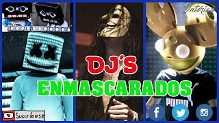 TOP 5 DJ´S QUE NO MUESTRAN SU CARA ft Marshmello, Deadmau5, Daft Punk, Cazzette y DJ's from Mars