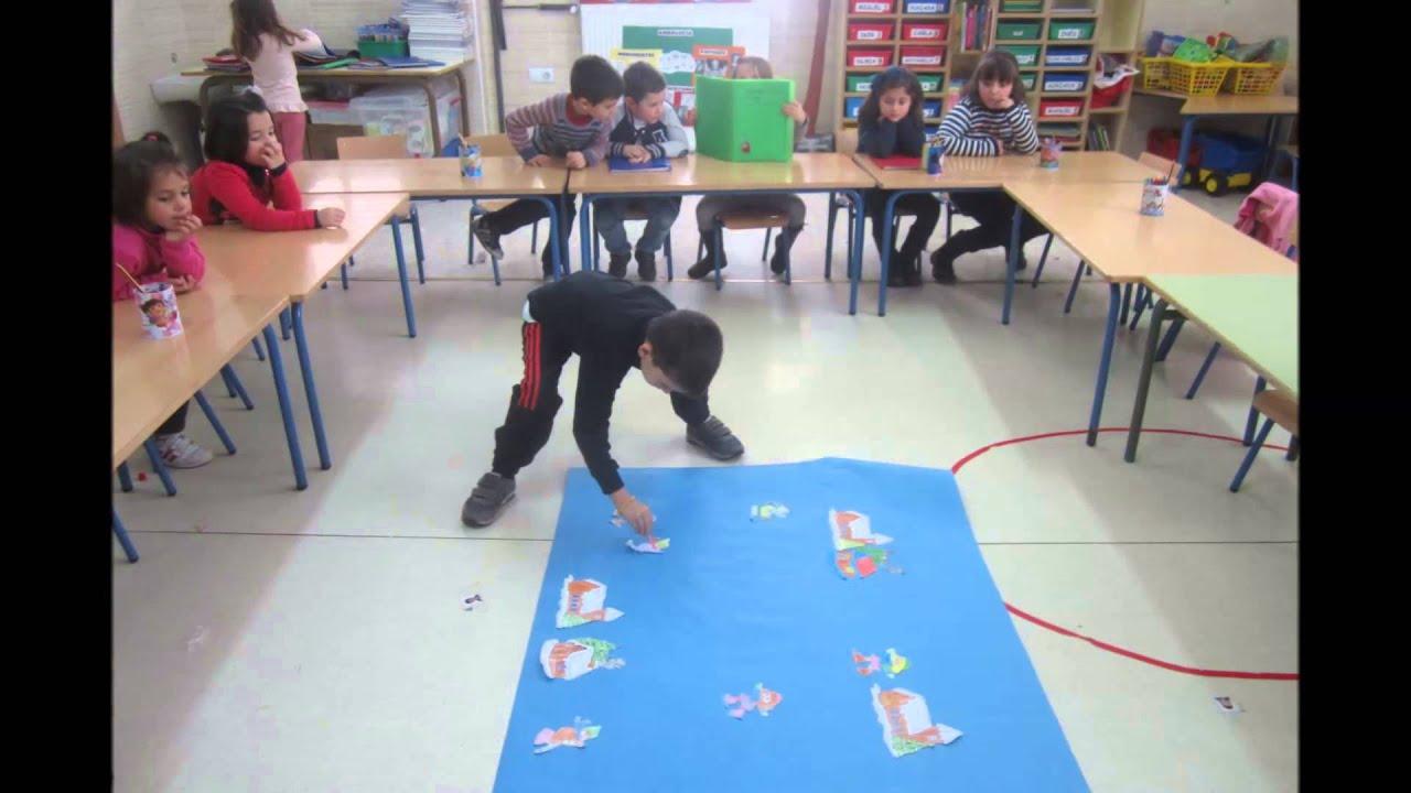 Decoraci n invierno aula infantil youtube for Decoracion invierno