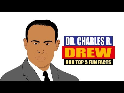 Dr. Charles R Drew | Fun Facts | Black History | Biography for Kids | Inventors