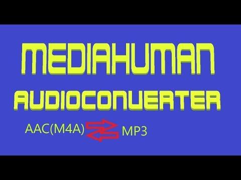 Mediahuman audio converter AAC to MP3