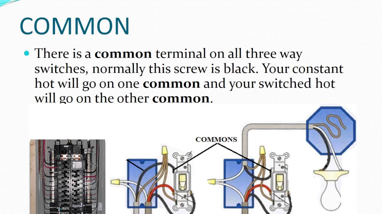 UNDERSTANDING 3 WAY SWITCH TERMS - YouTube