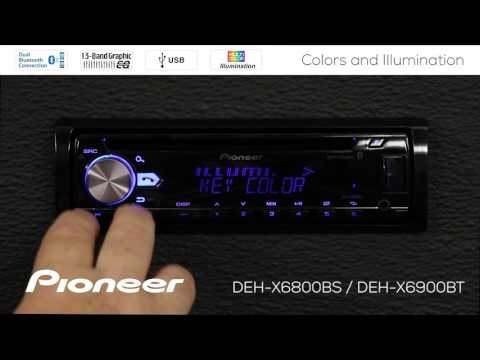 How To - DEH-X6900BT - Custom Colors and Illumination