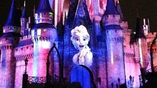 """Frozen Section of Celebrate The Magic """"Let it Go"""" LOVE THIS!!! At Magic Kingdom Walt Disney World"""
