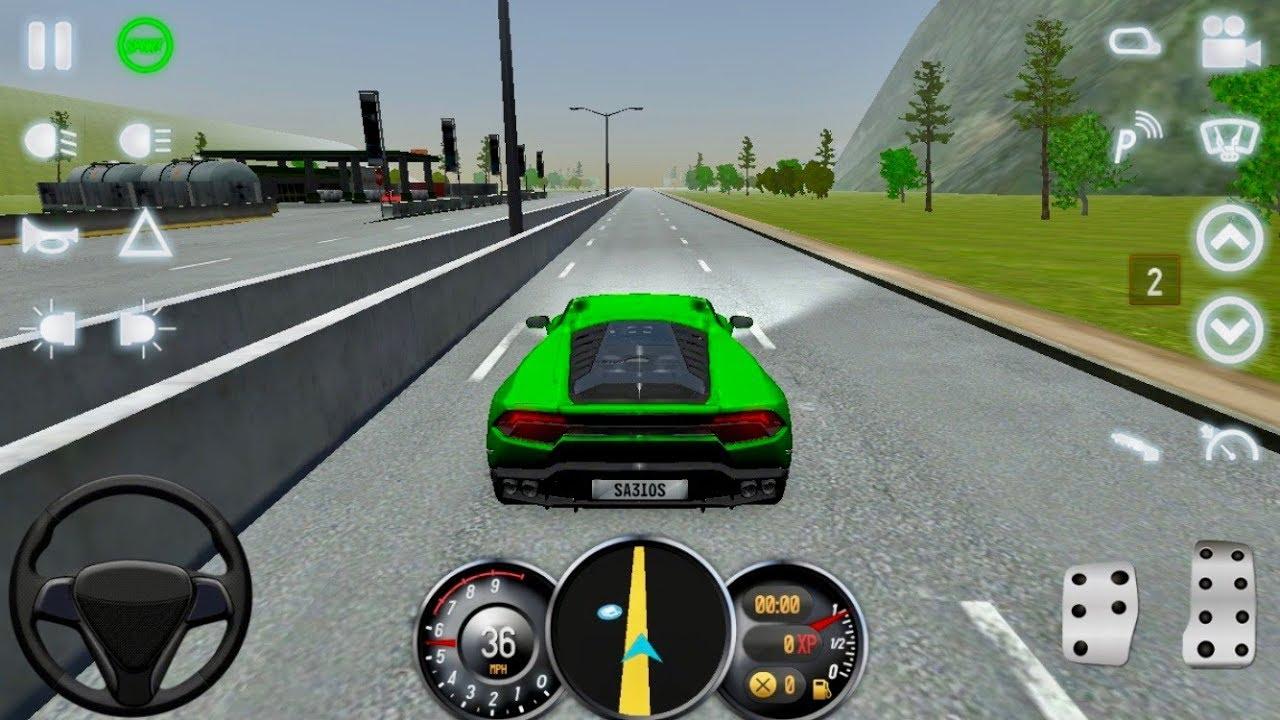 Driving School 2017 Lamborghini Huracan Youtube
