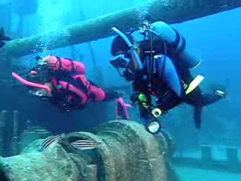 PADI Scuba Diving Lessons:  PADI Wreck Diver Course