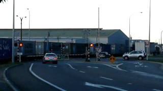 Five Barrier Arm Level Crossing
