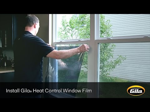 Install Gila® Heat Control Window Film (Static Cling)