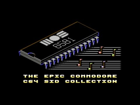 The Epic Commodore C64 SID Collection  11 hours of C64 Music